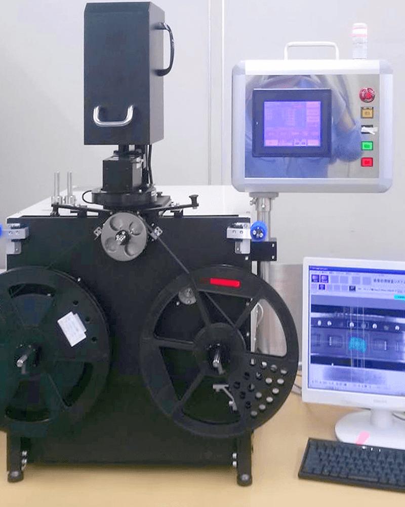 リール製品自動外観検査装置