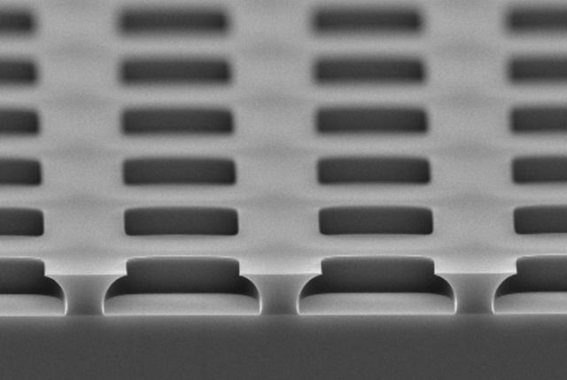 リフトオフレジスト加工 断面形状
